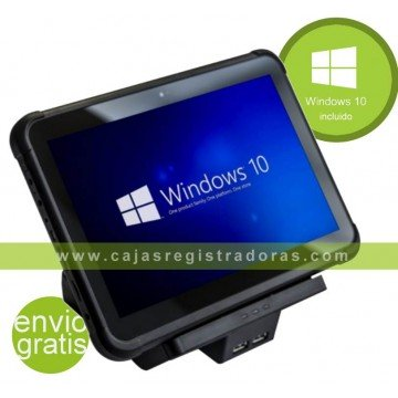 TPV POS Tablet KT10 TABLET WINDOWS 10 con Soporte