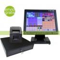 """Pack TPV Portátil Táctil 11,6"""" W10 y Software TPV + Cajon TPV + Impresora TPV"""
