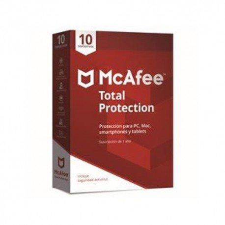 Mcafee Total Protection - 10 Dispositivos Windows, MacOS, Android e iOS
