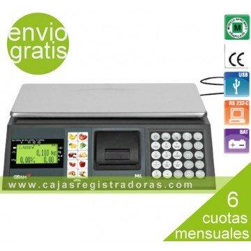 Balanza y Caja Registradora GRAM M4-30 con impresora y conexión PC