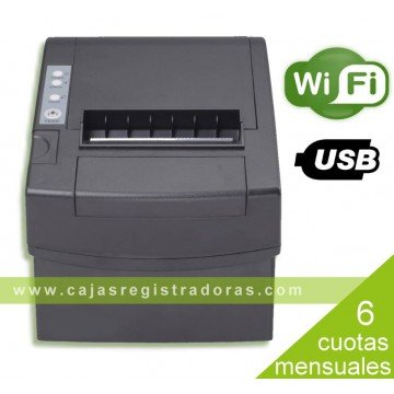 Impresora de Tickets TPV WIFI ITP-8011 WF , Térmica, 80mm, USB y Wifi