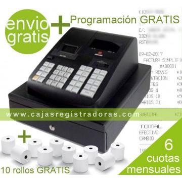 Caja Registradora Olivetti ECR 7790 + Programación + 10 Rollos