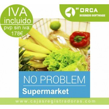 Software TPV Supermercado - No Problem Supermarket