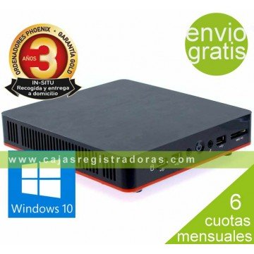 Ordenador Phoenix compact Intel celeron 4GB DDR3 1TB WIFI windows 10 vesa 100x100
