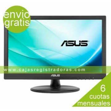 "Monitor LED Asus vt168n 15.6"" HD ready multitáctil 10 puntos d-sub dvi-d"
