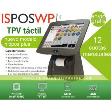 TPV Alta Gama ISPOSWP impresora integrada + ICG Software FrontRest