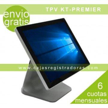 """TPV KT-PREMIER , TPV 15"""" CAPACITIVO ACABADO EN ALUMINIO PLATEADO"""