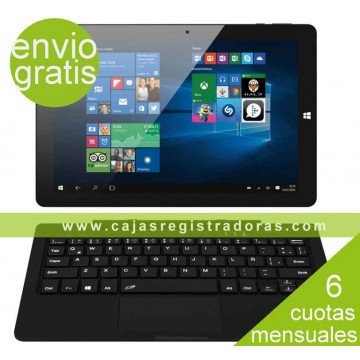 "Tablet y PC portátil 2 en 1  Táctil 10,1"" IPS - Intel Atom Z8350 - Windows 10 - 32GB SSD - 2GB Ram"
