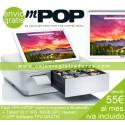 "Pack TPV POS 15"" Táctil - 120 Gigas SSD - 4 Gigas Ram - Windows 10  + impresora TPV 80mm"