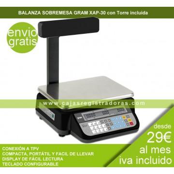 Balanza de sobremesa serie XAP-30P
