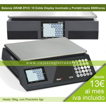Balanza Gram ZFOC 15