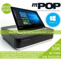 KIT TPV TACTIL OKPOS OPTIMUS BLANCO + SLK-TS400 w USB+CAJON HS-410