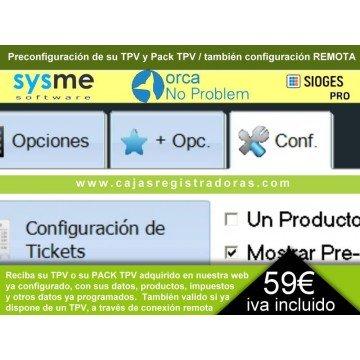 TPV Pre Configuración de Datos Empresa y Productos - también en remoto