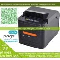 Impresora de Tickets T250L USB + RED + RS232 y Avisador y Autocorte