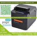 Impresora de Tickets T250L USB + RED + RS232 y Avisador y Autocorte