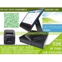 Pack TPV KT-800 Visor Cliente + Software No Problem Supermercado , Panadería , Frutería y Otros Alimentación