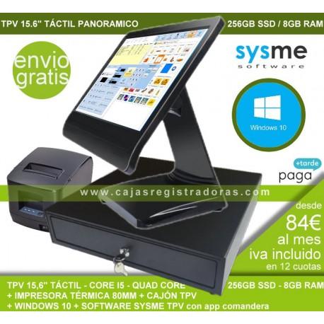 Pack TPV KT90-i5 con 256 GB disco duro SSD y 8 Gb RAM + Impreosra TPV + Cajon  + Software TPV