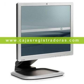 """MONITOR HP L1750-PLATA/NEGRO-17""""-1280X1024-CUADRADO Reacondicionado"""