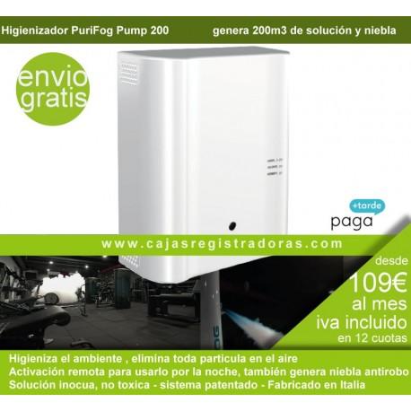 Purifog Pump 200 - Higienizador modular - Elimina toda particula en el aire