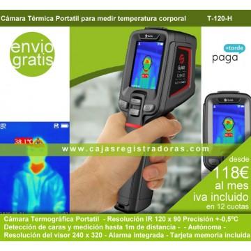 Cámara Térmica para detección fiebre T120H