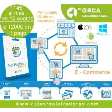 No Problem Ecommerce  + No Problem BAR & REST reciba comandas desde su web y sirva a domicilio o recogida en local