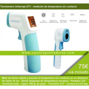 Termómetro Infrarrojo DT1 medición sin contacto