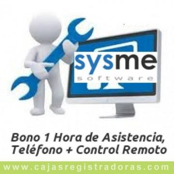 Bono 1 hora de soporte técnico para Software  Sysme