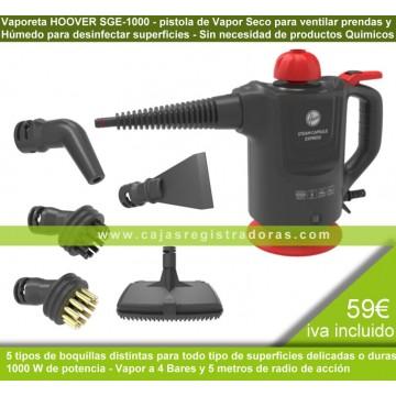 PISTOLA VAPOR HOOVER SGE1000 SECO Y HUMEDO 1000W - 39600209