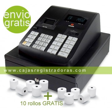 Caja Registradora Olivetti ECR 7790 + 10 Rollos Térmicos