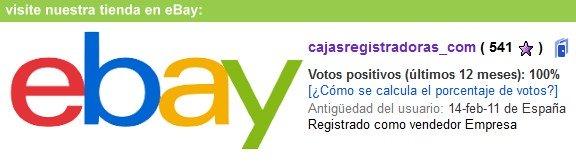 cajasregistradoras.com tienda eBay